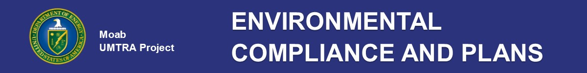 Environmental Compliance and Plans